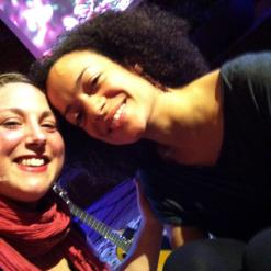 Helen & Calia at Kripalu Center for Yoga and Health in MA