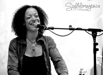 Calia at Stanton Street Yoga in NYC (photo by Julie Rousseau • www.soulfulimages.ca)