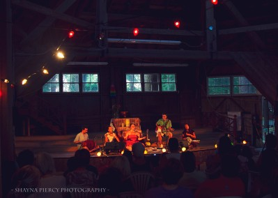 KSR at Berwick Yoga Festival in Nova Scotia, Canada (photo by Shayna Piercy)
