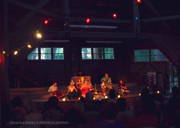 KSR at Berwick Yoga Festival in Nova Scotia, Canada (photo by Shayna Piercy)