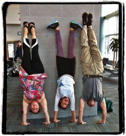 KSR airport handstands