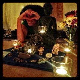 Calia at Awaken Yoga and Meditation on Long Island, NY