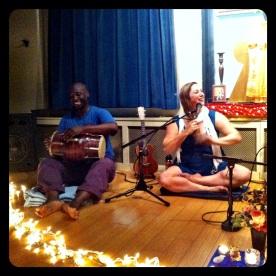 Terrance & Helen at Jivamukti Yoga in NYC (photo by Keith Villanueva)