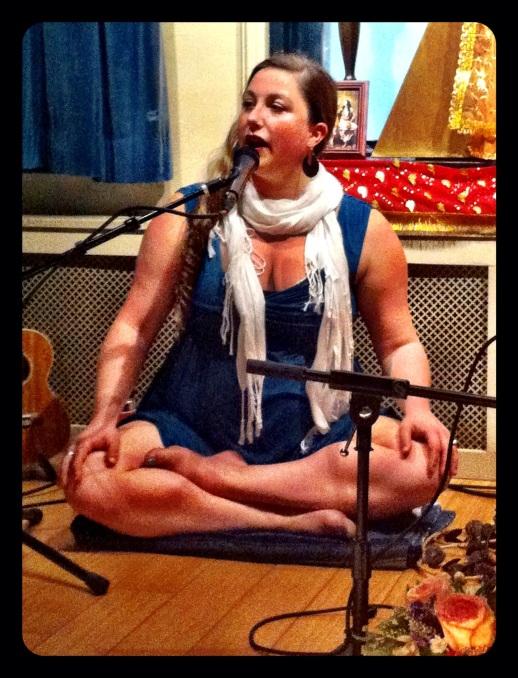 Helen at Jivamukti Yoga in NYC (photo by Keith Villanueva)