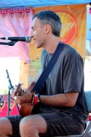 Todd at Bhakti Fest West in Joshua Tree, CA (photo by Shanti Scribe • www.shantiscribe.com)