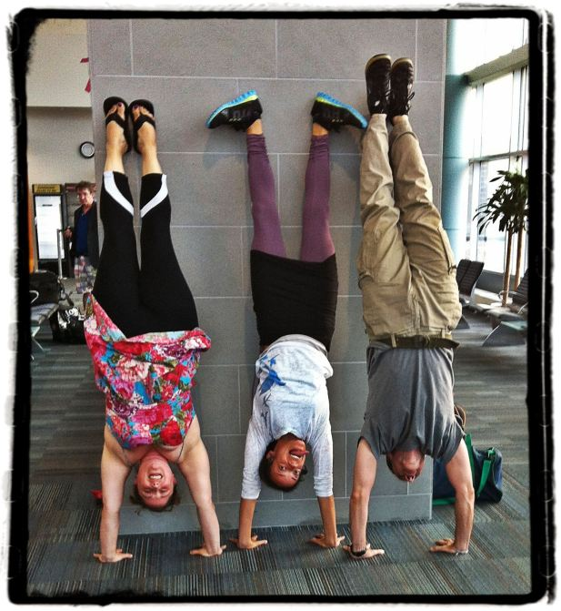 KSR handstands