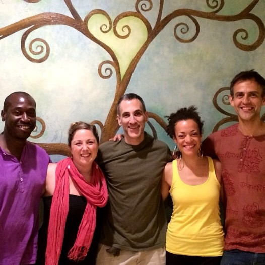 KSR at Heartspace Yoga in Troy, NY