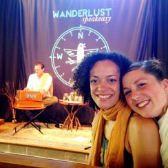 Helen & Calia at Wanderlust Festival in Stratton, VT photo by Daniel Cook
