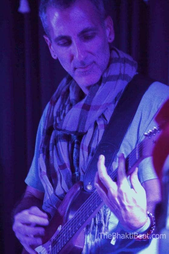 Todd at Ahimsa Yoga and Music Festival in Windham, NY (photo by Brenda Patoine • www.thebhaktibeat.com)