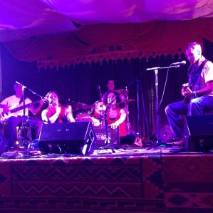 KSR at Ahimsa Yoga and Music Festival in Windham, NY (photo by Amy Dawn Verebay)