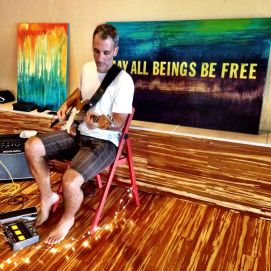 Todd at Pleasure Point Yoga in Santa Cruz, CA