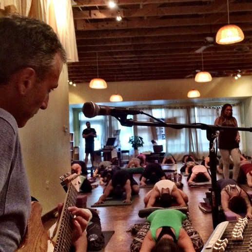 Todd at Yoga Seed Collective in Sacramento, CA