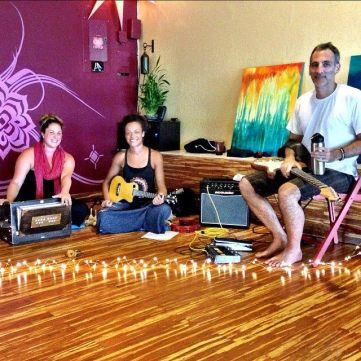 KSR at Pleasure Point Yoga in Santa Cruz, CA