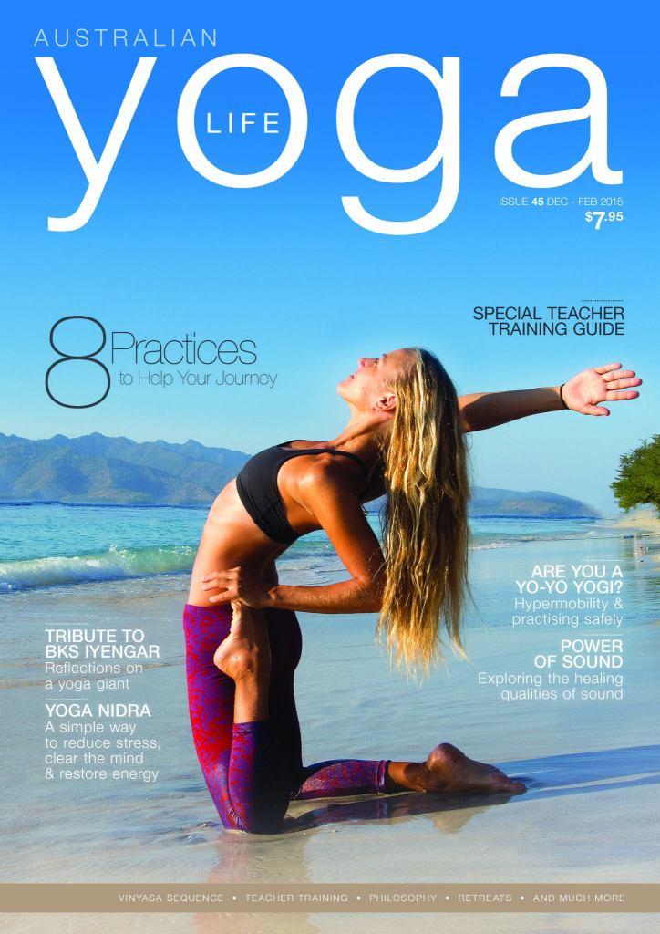 KSR in Australian Yoga Life
