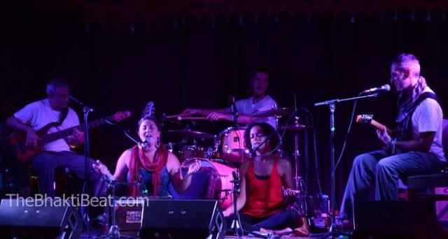 KSR at Ahimsa Yoga and Music Festival in Windham, NY (photo by Brenda Patoine • www.thebhaktibeat.com)